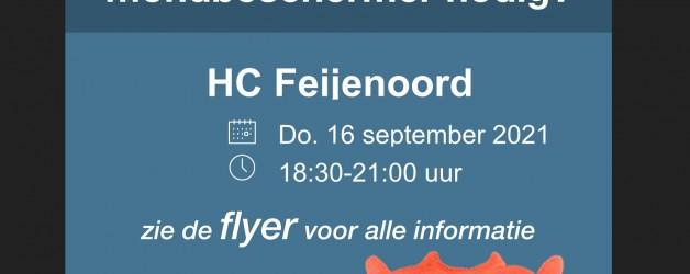 Bitjes happen op HC Feijenoord 16 september a.s.